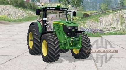 John Deere 6210R〡instrumentpanel belysning for Farming Simulator 2015