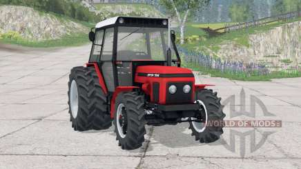Zetor 7245〡there are double rear wheels for Farming Simulator 2015