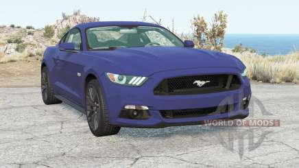 Ford Mustang GT Fastback 2015 for BeamNG Drive