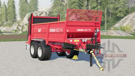 SIP Orion 120 TH〡wheels selection for Farming Simulator 2017