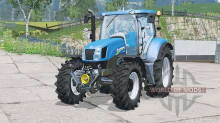 New Holland T6.175〡moving interior parts for Farming Simulator 2015