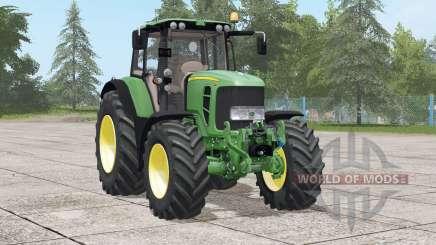 John Deere 7030 Premium〡various configurations for Farming Simulator 2017