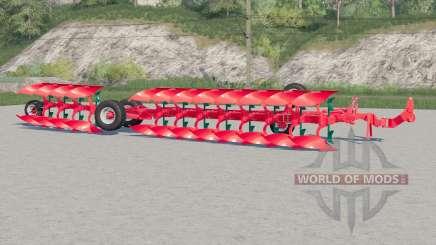 Vogel&Noot Heros 1000〡semi-mounted plough for Farming Simulator 2017